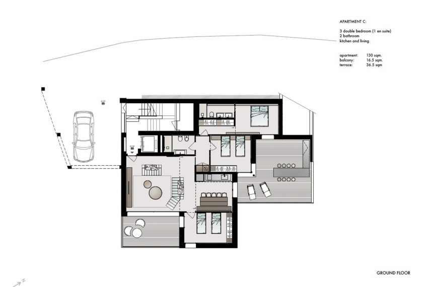 Lake Como San Siro brand new apartments in residence with pool (1)