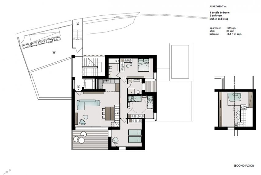 Lake Como San Siro brand new apartments in residence with pool (10)