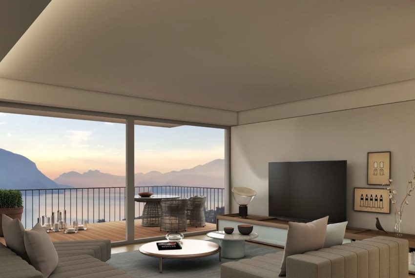 Lake Como San Siro brand new apartments in residence with pool (7)