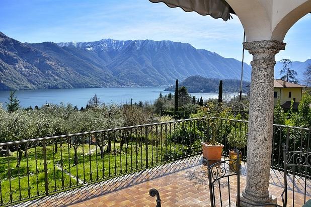 lake Como Tremezzo villa with pool and lake view (6)