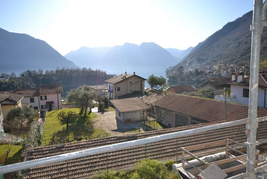 Lake Como Ossuccio brand new apartments in residence with pool and great lake view