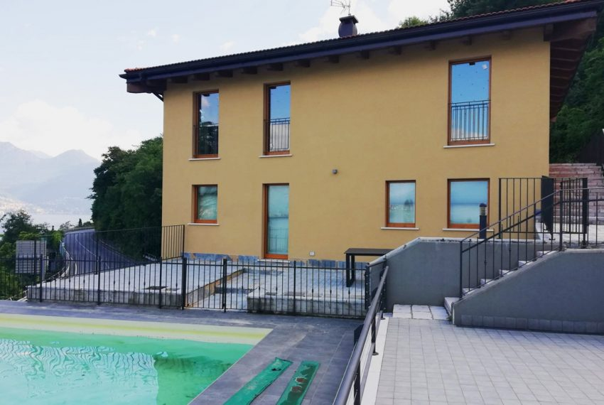 lake Como brand new penthouse with pool, private garden, garage and lake view. 100 mt from the beach (3)
