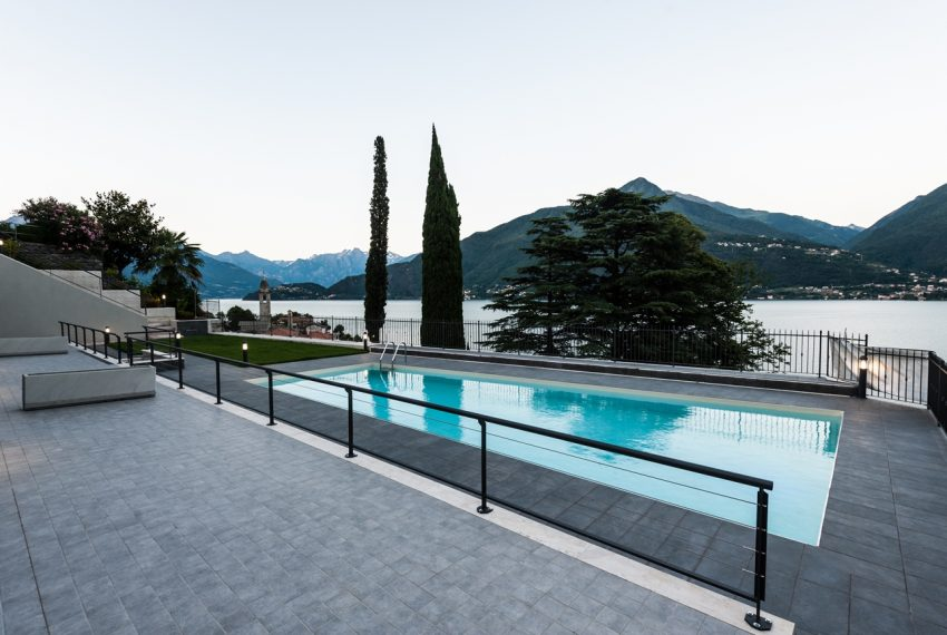 lake Como brand new penthouse with pool, private garden, garage and lake view. 100 mt from the beach (6)