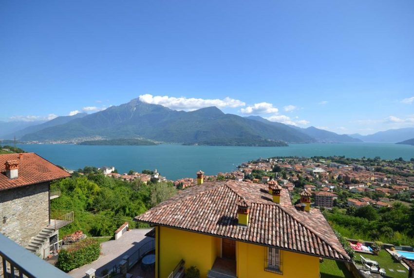 Lake Como Gravedona house with garden and lake view (1)