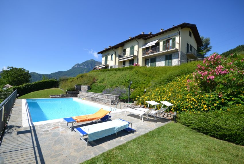 Menaggio hillside, apartament in residence with pool and lake view (17)