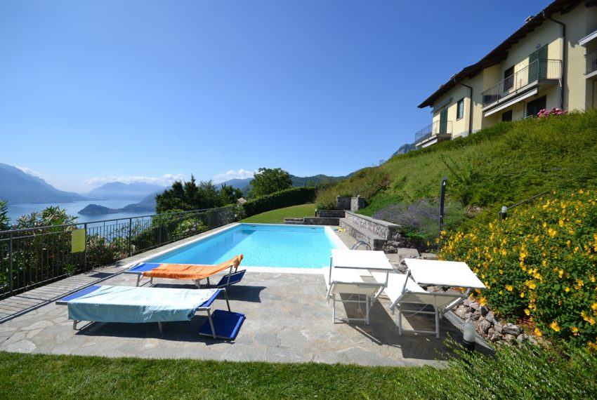 Menaggio hillside, apartament in residence with pool and lake view (18)