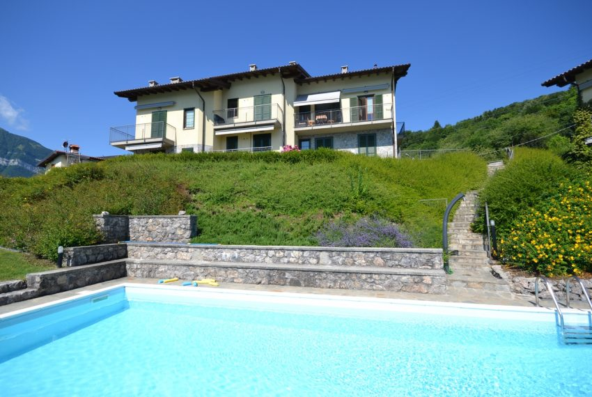 Menaggio hillside, apartament in residence with pool and lake view (2)