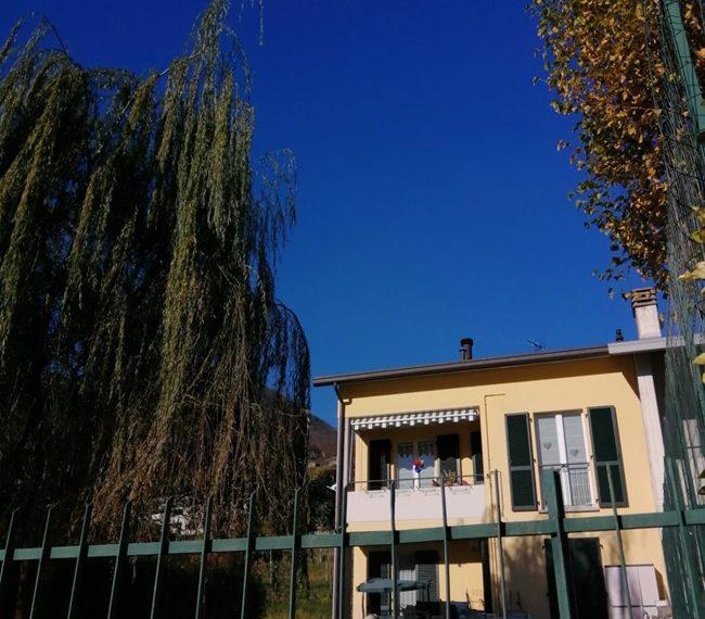 Domaso apartment close to the center with garage, cella and small garden (10)