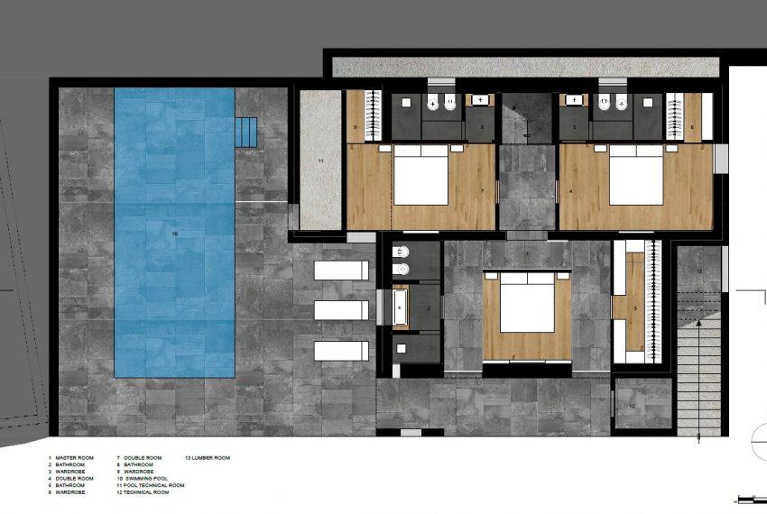 Vercana brand new modern villa with garden and pool (4)