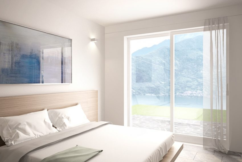 Lake Como apartment in residence with pool. Private parking, garden and lake view (8)