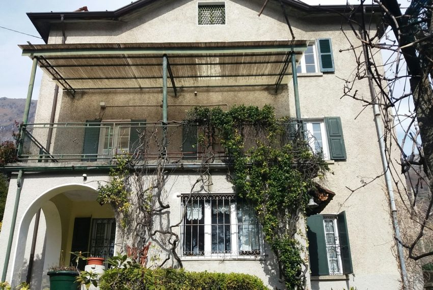 Lake Como Musso detached villa with garden and lake view (1)