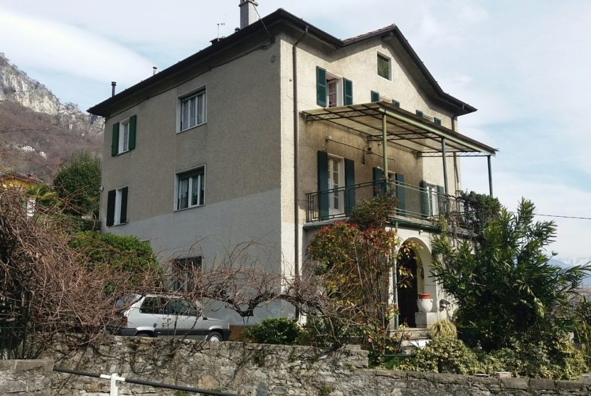 Lake Como Musso detached villa with garden and lake view (2)