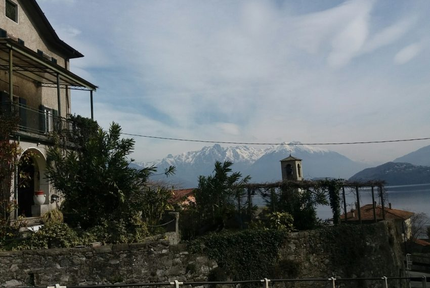 Lake Como Musso detached villa with garden and lake view (3)