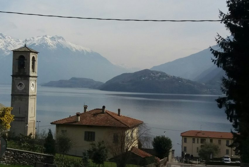 Lake Como Musso detached villa with garden and lake view (5)